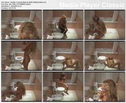 Hidden Camera Beauty Bath Masturbation