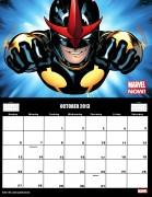 Marvel Calendar 2013