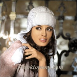 漂亮的护耳帽(40) - 柳芯飘雪 - 柳芯飘雪的博客
