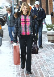 Lori Loughlin - out shopping in Aspen 12/26/12