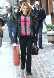 Lori Loughlin - out shopping in Aspen 12/26/12
