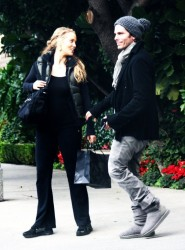 Elizabeth Berkley - at the Four Seasons Hotel in Beverly Hills 12/23/12