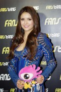 Nina Dobrev - *leggy* at party with Fanstang in Shanghai 12/28/12 MQ tag