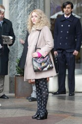 AnnaSophia Robb - on the set of 'The Carrie Diaries' in NYC 1/9/13