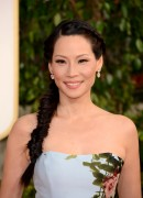 Lucy Liu - 70th Annual Golden Globe Awards in Beverly Hills 01/13/12