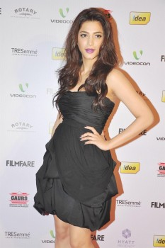 Shruti Haasan - 58th Annual Idea Filmfare Awards Nominations Party in Mumbai on January 14, 2013 - x2 HQ