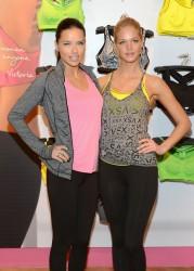 Adriana Lima & Erin Heatherton - Victoria's Secret 'VSX' Launch Event in NY 1/15/13