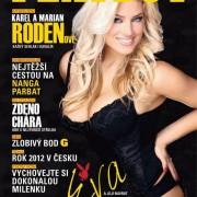Gatas QB - Eva Perkausova Playboy República Checa Janeiro 2013