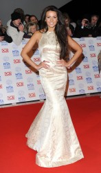 Michelle Keegan - National Television Awards 2013 in London 1/23/13