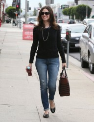 Emmy Rossum - out and about in Hollywood 1/23/13