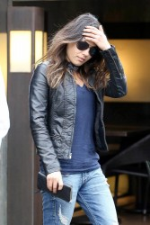 Mila Kunis - out for lunch in Studio City 1/23/13