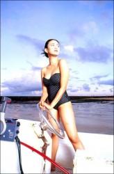 Foto Hot Seksi pose Artis jadul Dian Nitami di Majalah Dewasa Popular