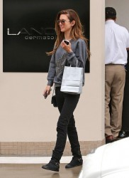 Audrina Patridge - leaves Lancer Dermatology in Beverly Hills 1/25/13