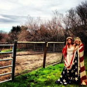 Aly Michalka and AJ Michalka (78violet) in Hothouse Music Video (Behind the Scenes)