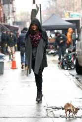Katharine McPhee - on the set of 'Smash' in NYC 1/28/13