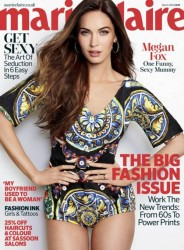 Megan Fox - Marie Claire (UK) March 2013