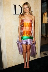 Isabel Lucas - Christian Dior store opening in Sydney 1/31/13