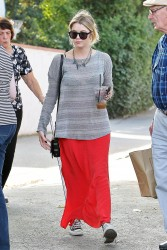 Ashley Benson - leaving after lunch in Toluca Lake 2/3/13