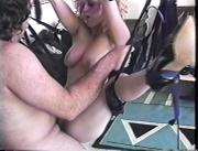 Male anus gape