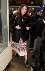 Katharine McPhee - arrives at Live! with Kelly & Michael in NYC 2/4/13