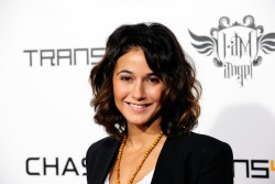 Emmanuelle Chriqui - Will.I.Am's Annual TRANS4M Benefit Concert in Hollywood 2/7/13