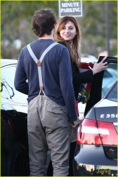 Alyson 'Aly' Michalka - heads to her car in Calabasas 2/12/13