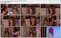 CHRISHELL STRAUS - cleavage - all my children - apr 21, 2010