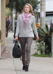 Ali Larter - out shopping in LA 2/19/13