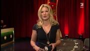 Andrea Kaiser with top neckline & Lena Meyer-Landrut - The TV Total PokerStars night 29/01/2013