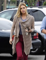 Sophie Monk - Running errands in West Hollywood 3/5/13