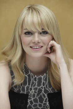 Emma Stone The Croods press conference portraits HQ's