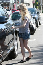 Amanda Seyfried - out for lunch in West Hollywood 3/12/13