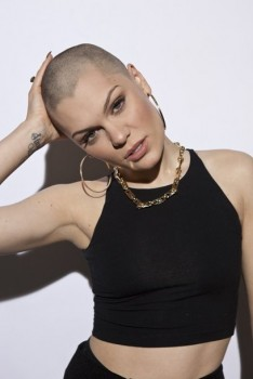 Jessie J~ Shaves her head for charity.