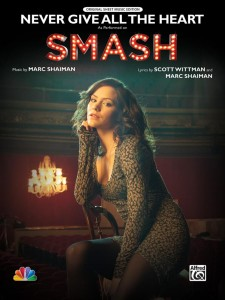 "Katharine McPhee - Cover of ""Smash"" Sheet Music x1"