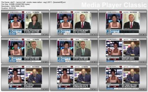 Tamron Hall & Courtney Hazlett - msnbc - August 1, 2011