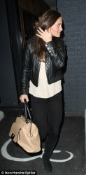 Pippa Middleton - leaves Bubbledogs restaurant in London 3/20/13