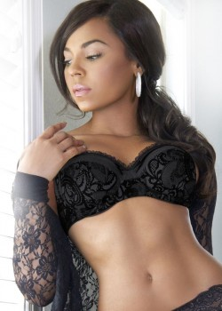 Ashanti | Never Should Have (Single Cover) | Sexy Black Lingerie