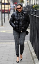Kelly Brook - out in London 3/27/13