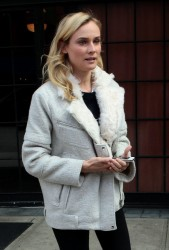 Diane Kruger - out in NYC 3/27/13