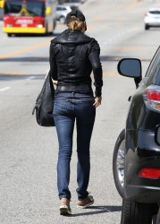 Stacy Keibler - out in West Hollywood 3/27/13