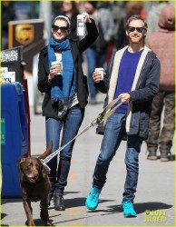 Anne Hathaway - out in NY 3/30/13