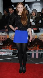Sophie Turner - 'Olympus Has Fallen' premiere in London 4/3/13
