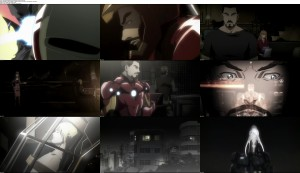 Download Iron Man Rise of Technovore (2013) 720p WEB DL 650MB Ganool