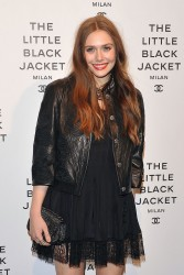 Elizabeth Olsen - at a Chanel event in Milan 4/4/13