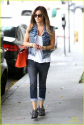 Ashley Tisdale - at Nine Zero One salon in LA 4/5/13