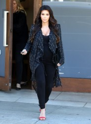 Kim Kardashian - Out and about in West Hollywood 4//9/13