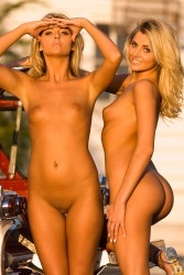 Playboy twins nude photos