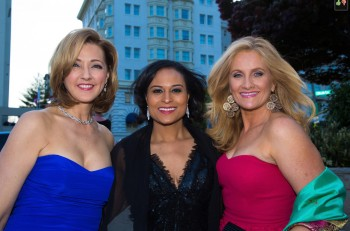 ALEX WITT, CHRIS JANSING, KRISTEN WELKER - white house correspondents' dinner (whcd) April 27,2013 - *cleavage*