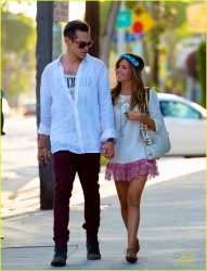 Ashley Tisdale - out in LA 4/27/13