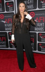 Demi Moore @ AFI's Night at the Movies, LA,  24.04.13 - 8HQ *see-through*